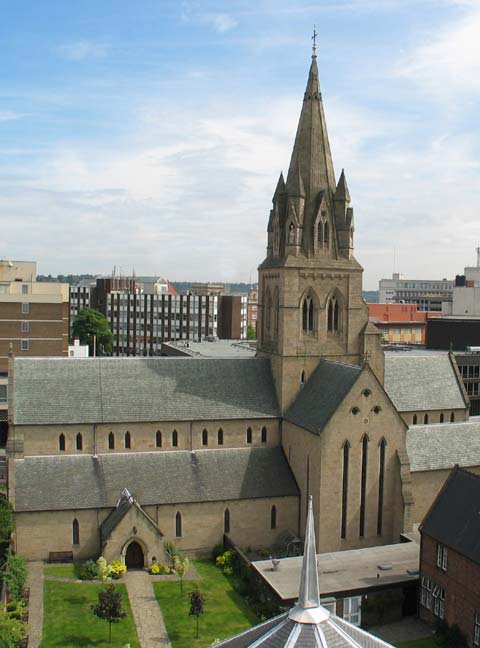 Nottingham Cathedral (coutesy of stbarnabasnottingham.org.uk)
