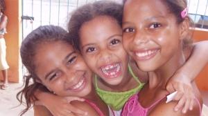 Children from Peixinhos, Brazil