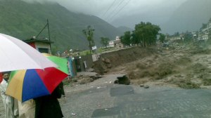 Pakistan: Facing mudslides
