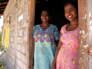 Surenthiran and her family love their new home