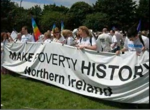 Make poverty history 2005