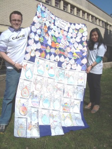 Schools create 'rivers of change' in support of CAFOD