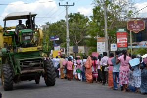 Peasant farmers - sidelined by monster agri-business
