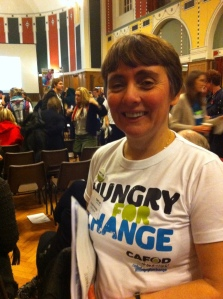 Annette Brindle at Hungry for change launch