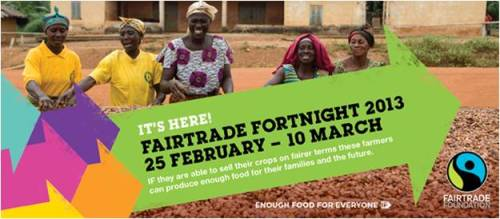 What could you discover in Fairtrade Fortnight?