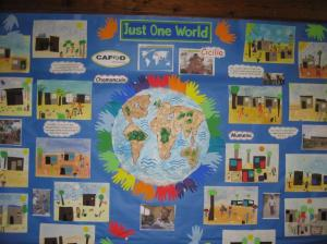 A Yr 2 display 'The Town that came alive'.