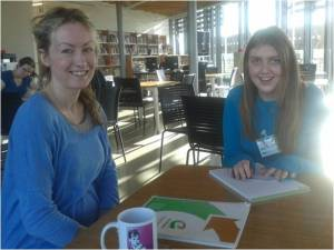 Great Generation E-editor Katherine interviews to Andes Programme Administrator Maria.