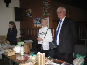 Michael Walsh at a Fairtrade parish event