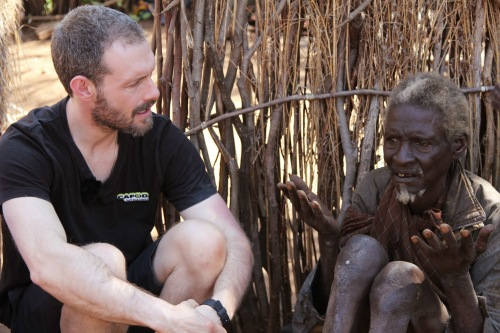 Ben Price with Otyang in Uganda