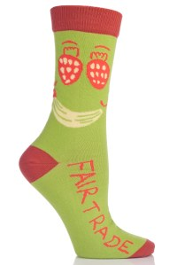 Elliot's Fairtrade-cotton sock