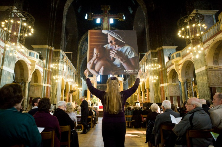 Jacquie's photo at CAFOD's 50th anniversary Mass