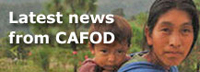 Latest news from CAFOD