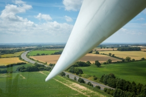 Wind turbine in Norfolk