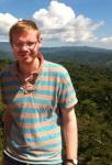 Matthew Sanderson on a recent trip visiting CAFOD projects in El Salvador