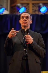 The Right Reverend John Arnold at last year's lecture
