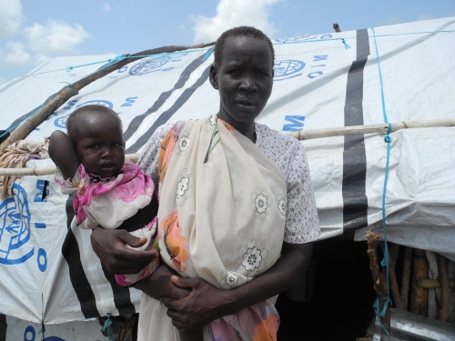 Bibiana - refugee camp, Juba, South Sudan