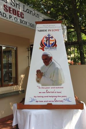 Pope in Sri Lanka
