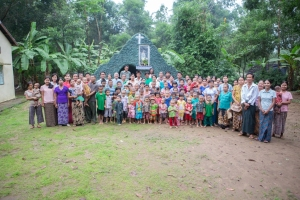 Villagers in Myanmar