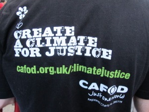 CAFOD has a long history of campaigning for social justice