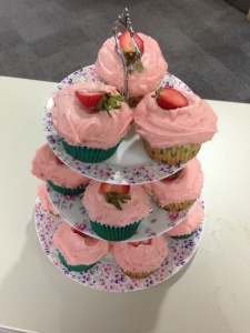 Cupcakes to raise money for CAFOD's Lent Appeal