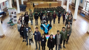 Young leaders from Portsmouth Diocese take part in our One Climate, One World campaign.