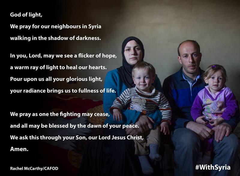 Pray for Syria