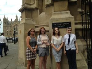 House of Lords' garden entrance