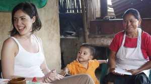 Gemma in El Salvador.