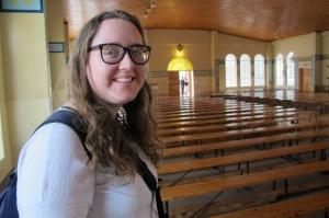 Katy is one of CAFOD's gap year volunteers in Zimbabwe