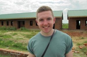 Jason has been inspired by the volunteers he has met in Zimbabwe