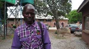 Martin, one of the Shemware Dzedu, who led us in singing