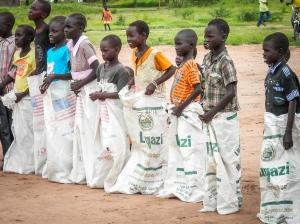 Sports day, South Sudan.