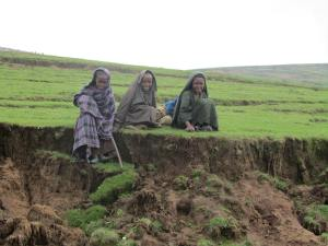 CAFOD Children in Ethiopia sitting on grass