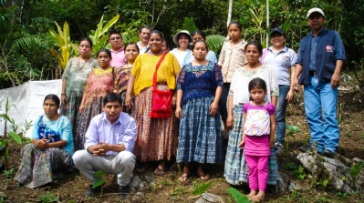 Indigenous women from Alta Verapaz supported by CAFOD's local Church partner Pastoral Social - Caritas Verapaz